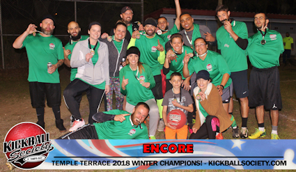 Encore - Temple Terrace Winter 2018 Champions!